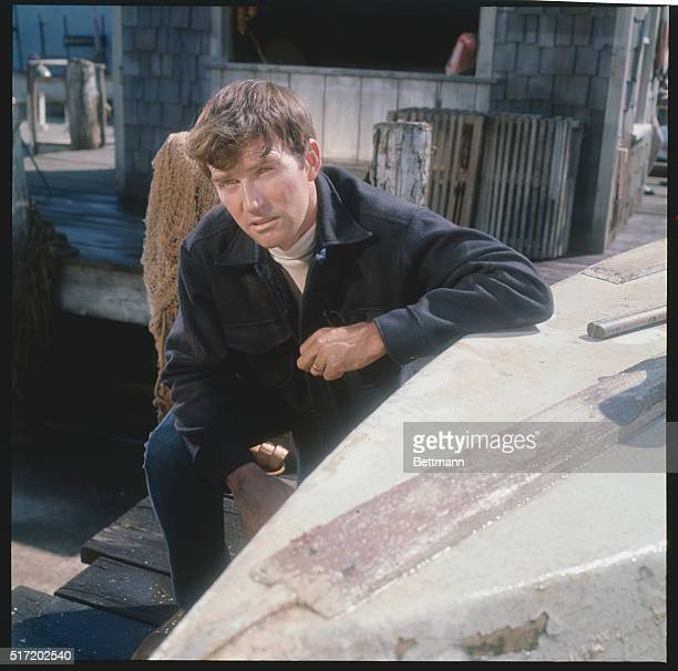 Actor Chris Connelly in a still from the TV series Peyton Place, which ran from 1964-1969. He plays Norman Harrington, brother of Rodney Harrington.