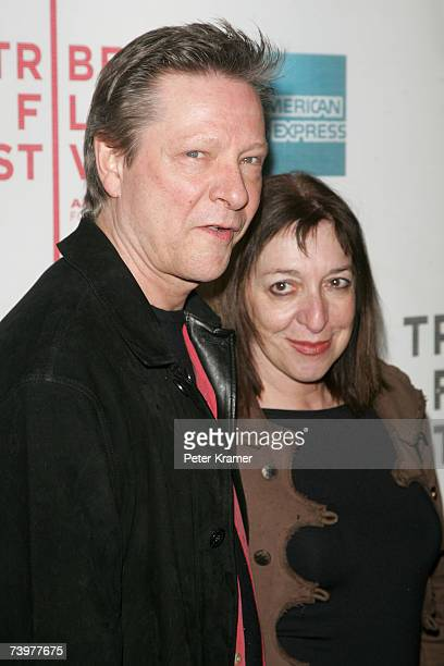 Actor Chris Cooper and his wife Marianne Leone attend the opening night premiere of SOS at the 2007 Tribeca Film Festival on April 25 2007 in New...