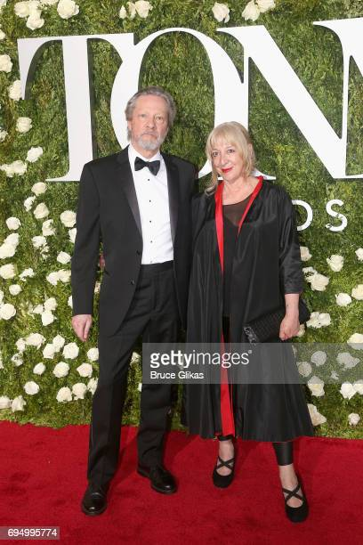 Actor Chris Cooper and Marianne Leone Cooper attend the 71st Annual Tony Awards at Radio City Music Hall on June 11 2017 in New York City