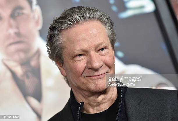 Actor Chris Cooper arrives at the Premiere of 'Live By Night' at TCL Chinese Theatre on January 9 2017 in Hollywood California