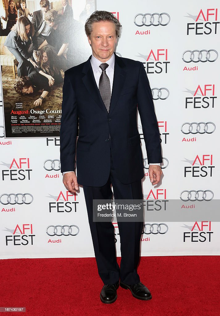 Actor Chris Cooper attends the premiere of The Weinstein Company's 'August: Osage County' during AFI FEST 2013 presented by Audi at TCL Chinese Theatre on November 8, 2013 in Hollywood, California.