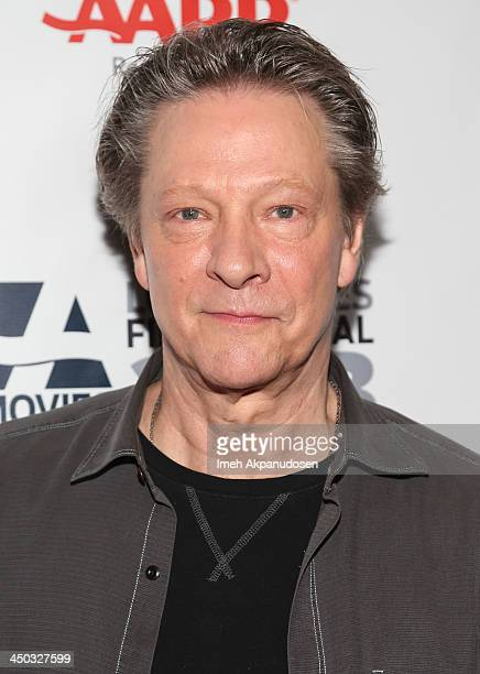 Actor Chris Cooper attends the screening of 'August Osage County' at AARP's Movies For Grownups Film Festival 2013 at Regal Cinemas LA Live on...