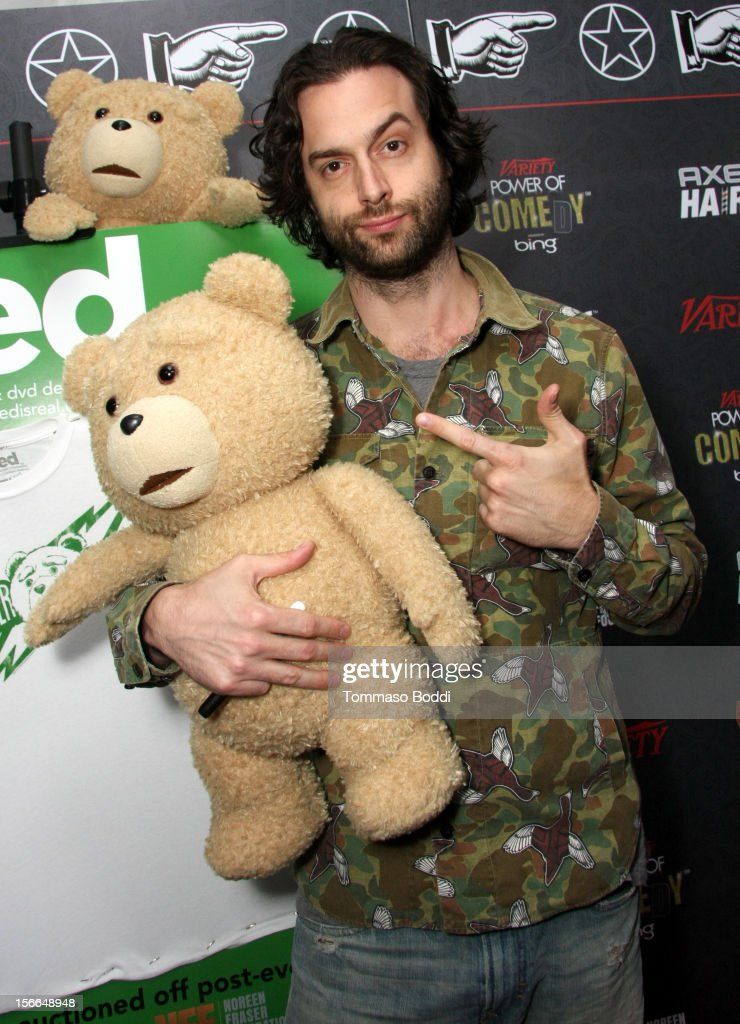 Actor Chris D'Elia arrives at Variety's 3rd annual Power of Comedy event presented by Bing benefiting the Noreen Fraser Foundation held at Avalon on November 17, 2012 in Hollywood, California. The Ted Blu-ray and DVD will be released on December 11, 2012.