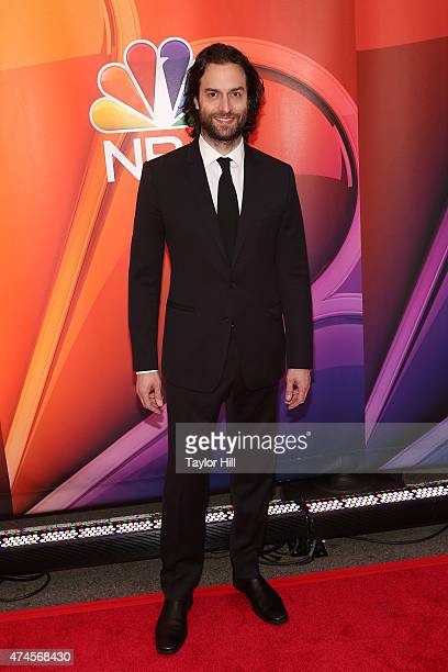 Actor Chris D'Elia attends the 2015 NBC Upfront Presentation Red Carpet Event at Radio City Music Hall on May 11 2015 in New York City