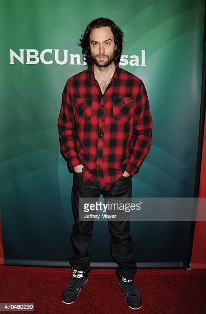 Actor Chris D'Elia attends the 2015 NBCUniversal Summer Press Day held at the The Langham Huntington Hotel and Spa on April 02 2015 in Pasadena...