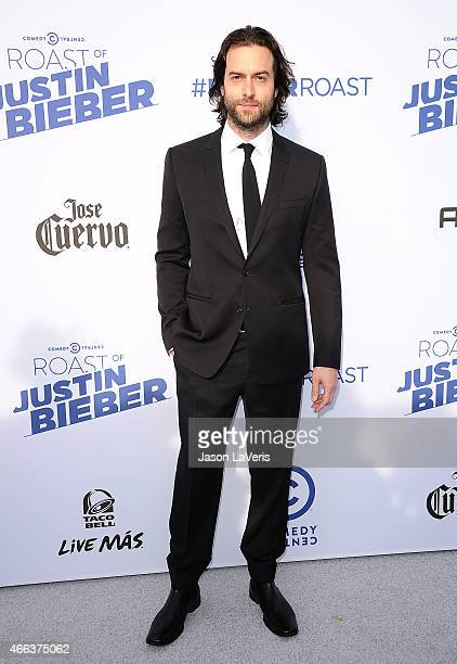 Actor Chris D'Elia attends the Comedy Central Roast Of Justin Bieber on March 14 2015 in Los Angeles California
