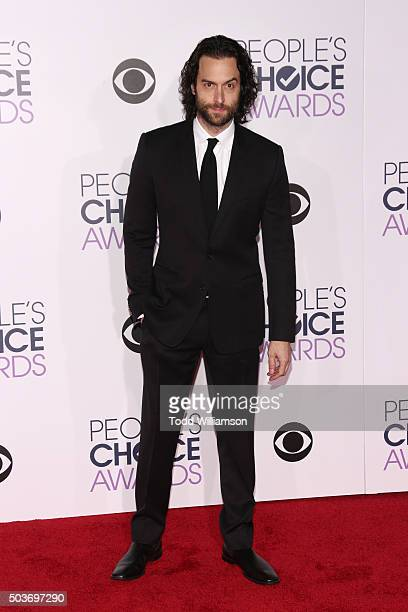 Actor Chris DElia attends the People's Choice Awards 2016 at Microsoft Theater on January 6 2016 in Los Angeles California