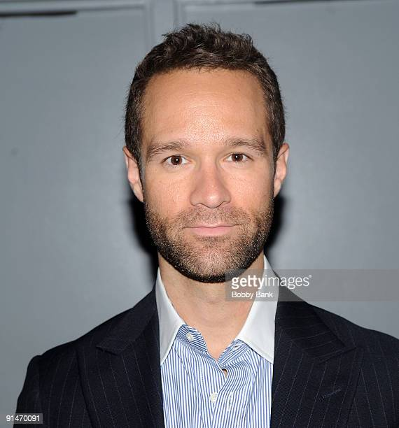 Actor Chris Diamontopolis attends a screening of Under New Management at the Directors Guild Theatre on August 13 2009 in New York City
