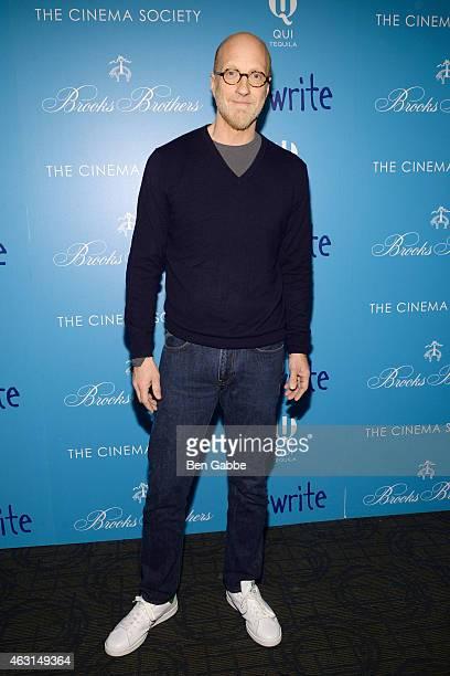 "Actor Chris Elliott attends The Cinema Society and Brooks Brothers Host A Screening of ""The Rewrite"" at Landmark Sunshine Cinema on February 10, 2015..."