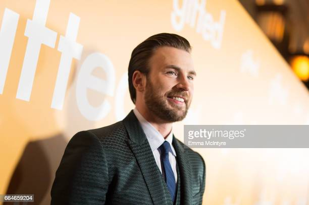 Actor Chris Evans arrives at the premiere of Fox Searchlight Pictures' 'Gifted' at Pacific Theaters at the Grove on April 4 2017 in Los Angeles...