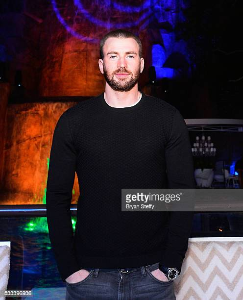 Actor Chris Evans attends Billboard Music Awards kickoff party at Intrigue Nightclub at Wynn Las Vegas on May 21 2016 in Las Vegas City