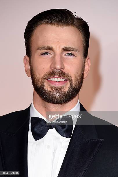 Actor Chris Evans attends the 87th Annual Academy Awards at Hollywood Highland Center on February 22 2015 in Hollywood California