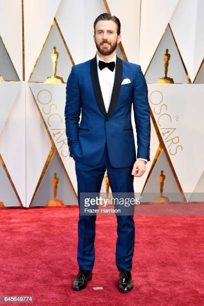 Actor Chris Evans attends the 89th Annual Academy Awards at Hollywood Highland Center on February 26 2017 in Hollywood California