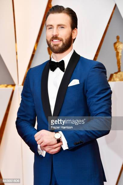 Actor Chris Evans attends the 89th Annual Academy Awards at Hollywood & Highland Center on February 26, 2017 in Hollywood, California.
