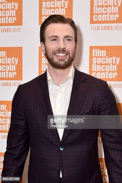 Actor Chris Evans attends the Gifted New York Premiere at New York Institute of Technology on April 6 2017 in New York City