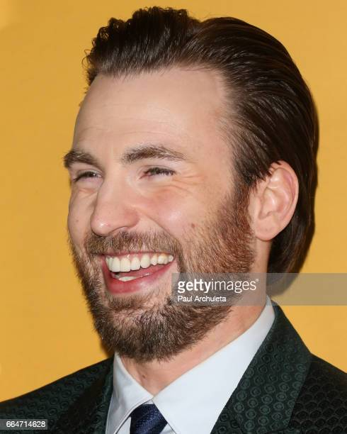 Actor Chris Evans attends the premiere of Gifted at Pacific Theaters at the Grove on April 4 2017 in Los Angeles California