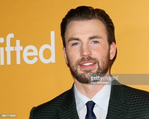 """Actor Chris Evans attends the premiere of """"Gifted"""" at Pacific Theaters at the Grove on April 4, 2017 in Los Angeles, California."""