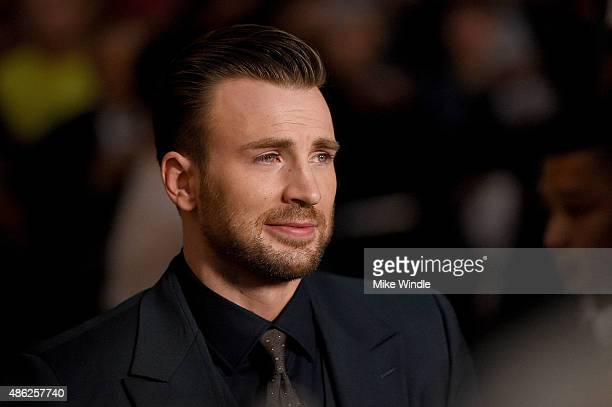 "Actor Chris Evans attends the premiere of Radius and G4 Productions' ""Before We Go"" at ArcLight Cinemas on September 2, 2015 in Hollywood, California."