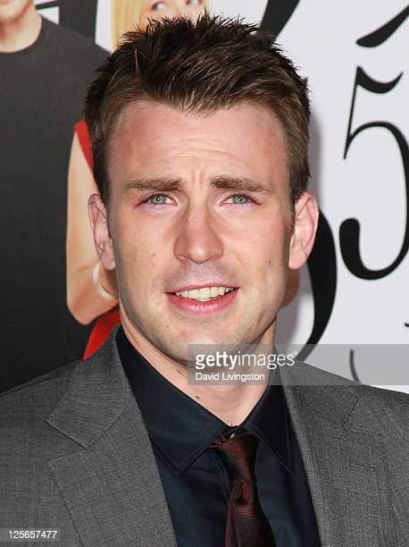Actor Chris Evans attends the premiere of 'What's Your Number' at Regency Village Theater on September 19 2011 in Westwood California