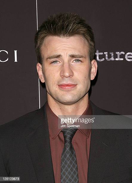 Actor Chris Evans attends the 'Puncture' premiere at the Angelika Film Center on September 15 2011 in New York City