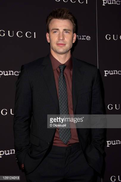 Actor Chris Evans attends the Puncture premiere at the Angelika Film Center on September 15 2011 in New York City
