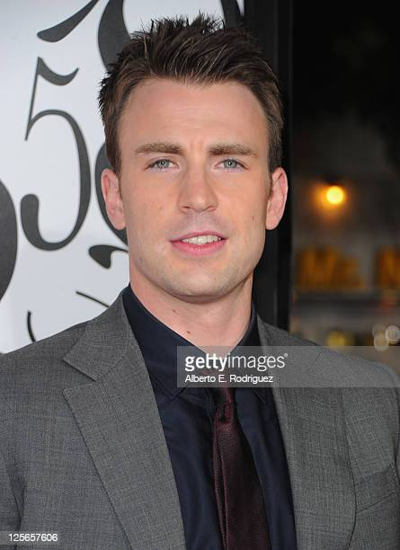 Actor Chris Evans attends the 'What's Your Number?' Los Angeles Premiere at Regency Village Theatre on September 19, 2011 in Westwood, California.