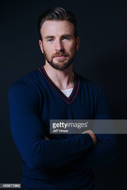 Actor Chris Evans is photographed for a Portrait Session at the 2014 Toronto Film Festival on September 4 2014 in Toronto Ontario