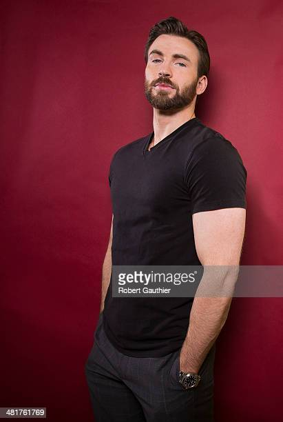 Actor Chris Evans is photographed for Los Angeles Times on March 12 2014 in Beverly Hills California PUBLISHED IMAGE CREDIT MUST READ Robert...