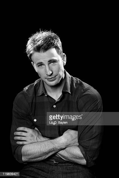 Actor Chris Evans photographed for Los Angeles Times on July 1 2011 in Los Angeles California CREDIT MUST READ Liz OBaylen/Los Angeles Times/Contour...