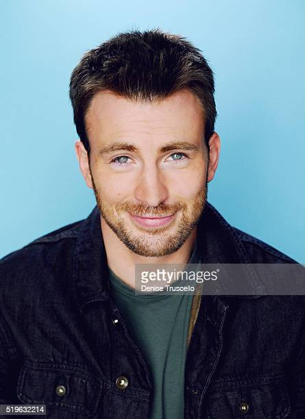 Actor Chris Evans poses for a portrait at the 2013 D23 Expo on August 6 2013 in Las Vegas Nevada