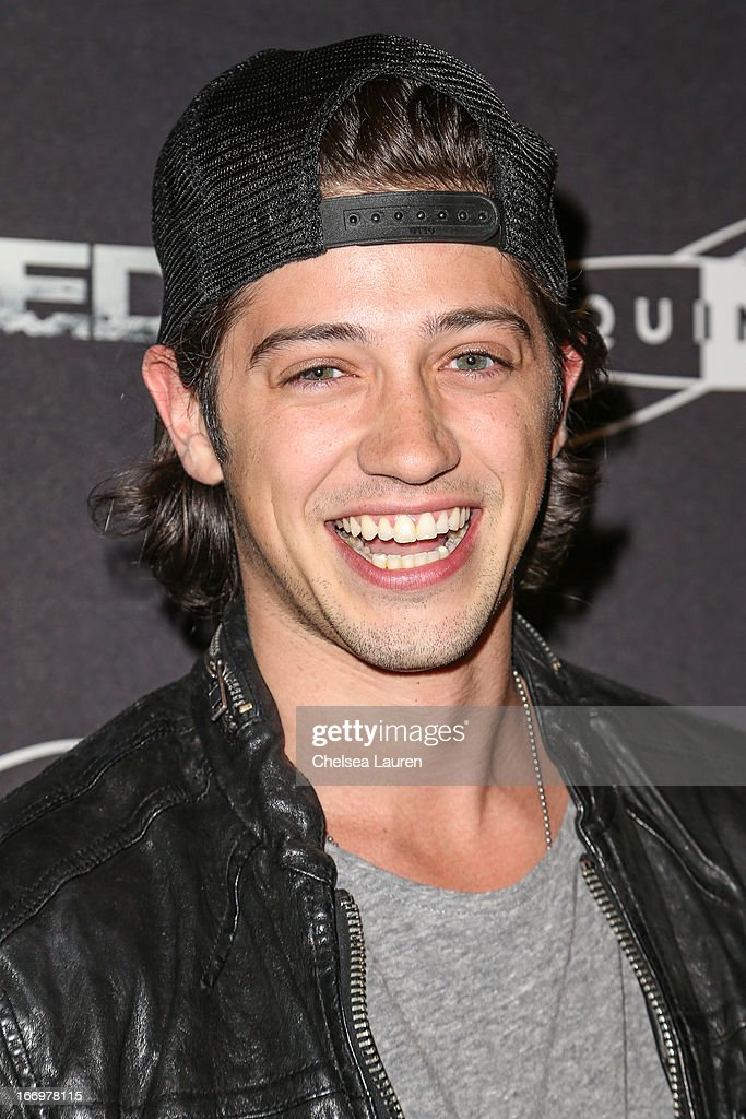 Actor Chris Galya arrives at the premiere of 'Isolated' at Equinox Sports Club West LA on April 18, 2013 in Los Angeles, California.