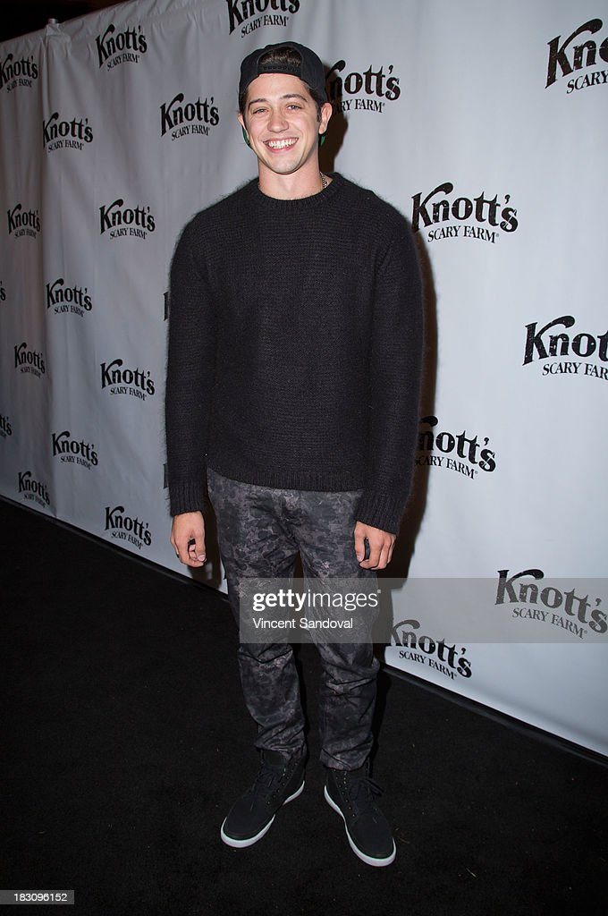 Actor Chris Galya attends the VIP opening of Knott's Scary Farm HAUNT at Knott's Berry Farm on October 3, 2013 in Buena Park, California.