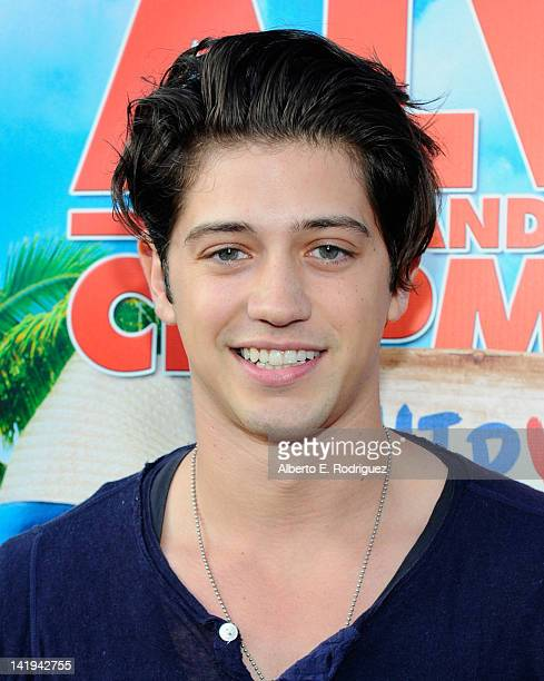 Actor Chris Galya attends Twentieth Century Fox Home Entertainment's Alvin and the Chipmunks Chipwrecked Bluray and DVD release party at El Rey...