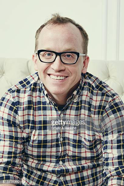 Actor Chris Gethard of 'Don't Think Twice' is photographed in the Getty Images SXSW Portrait Studio powered by Samsung at the Samsung Studio on March...