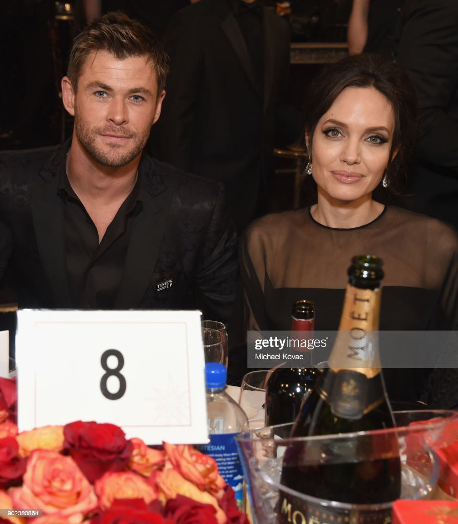 CA: Moet & Chandon At The 75th Annual Golden Globe Awards - Inside