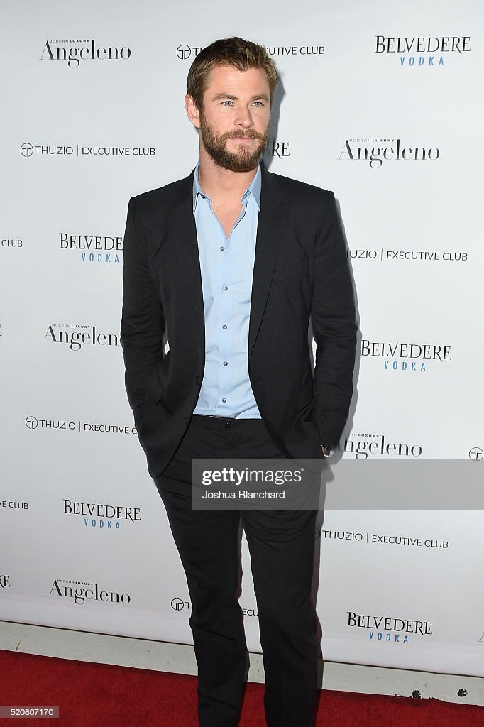 Angeleno's Issue Release Party Featuring Chris Hemsworth : News Photo