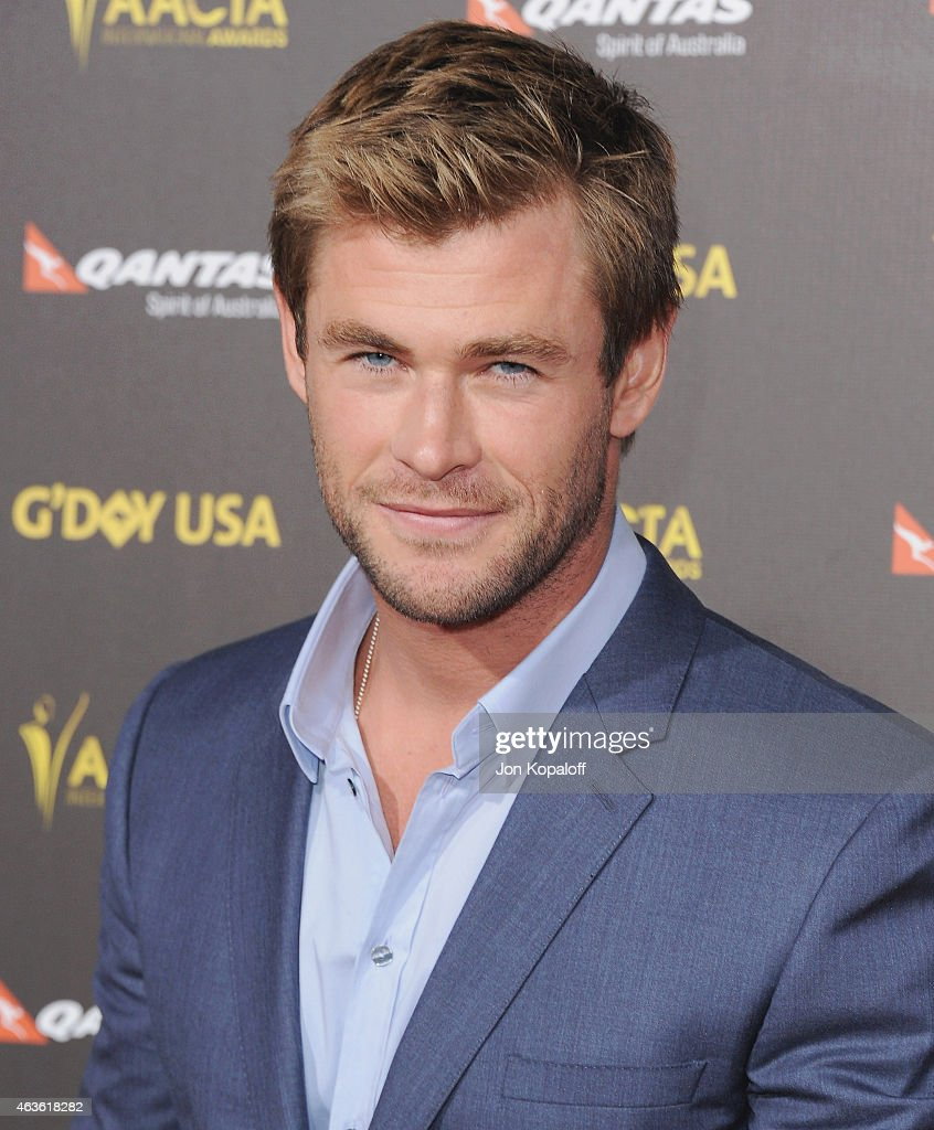 Actor Chris Hemsworth arrives at the 2015 G'Day USA Gala Featuring The AACTA International Awards Presented By Quantas at Hollywood Palladium on January 31, 2015 in Los Angeles, California.