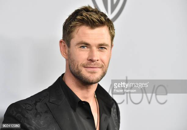 Actor Chris Hemsworth attends 19th Annual PostGolden Globes Party hosted by Warner Bros Pictures and InStyle at The Beverly Hilton Hotel on January 7...