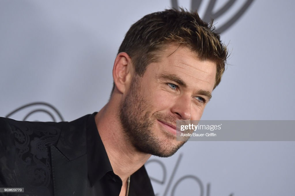Actor Chris Hemsworth attends the 19th Annual Post-Golden Globes Party hosted by Warner Bros. Pictures and InStyle at The Beverly Hilton Hotel on January 7, 2018 in Beverly Hills, California.