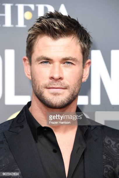 Actor Chris Hemsworth attends The 75th Annual Golden Globe Awards at The Beverly Hilton Hotel on January 7 2018 in Beverly Hills California