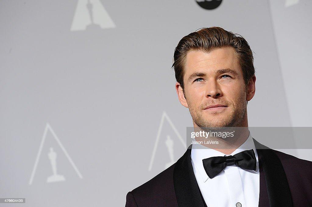 86th Annual Academy Awards - People Magazine Press Room : News Photo