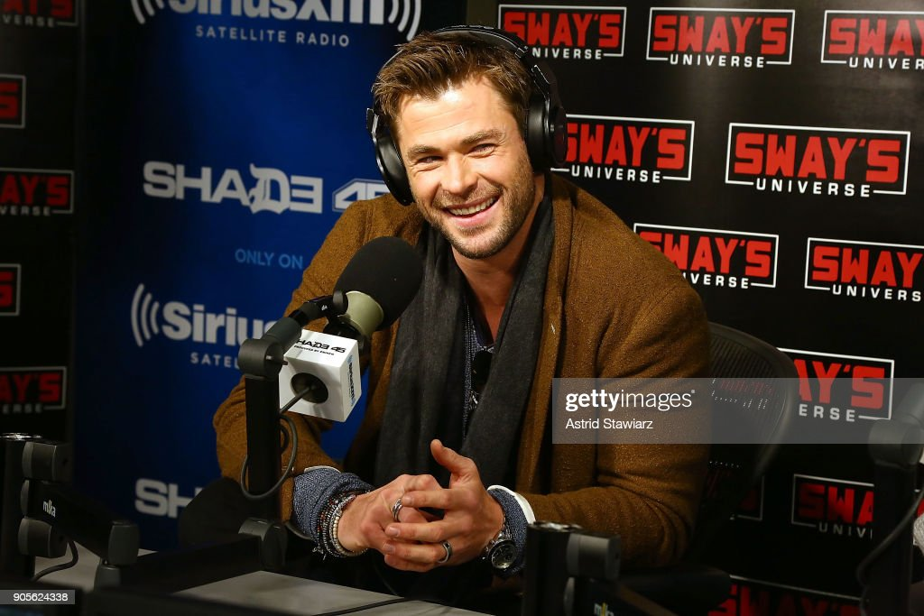 Celebrities Visit SiriusXM - January 16, 2018
