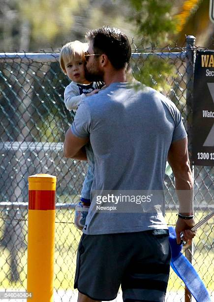 71 Chris Hemsworth Kids Photos And Premium High Res Pictures Getty Images