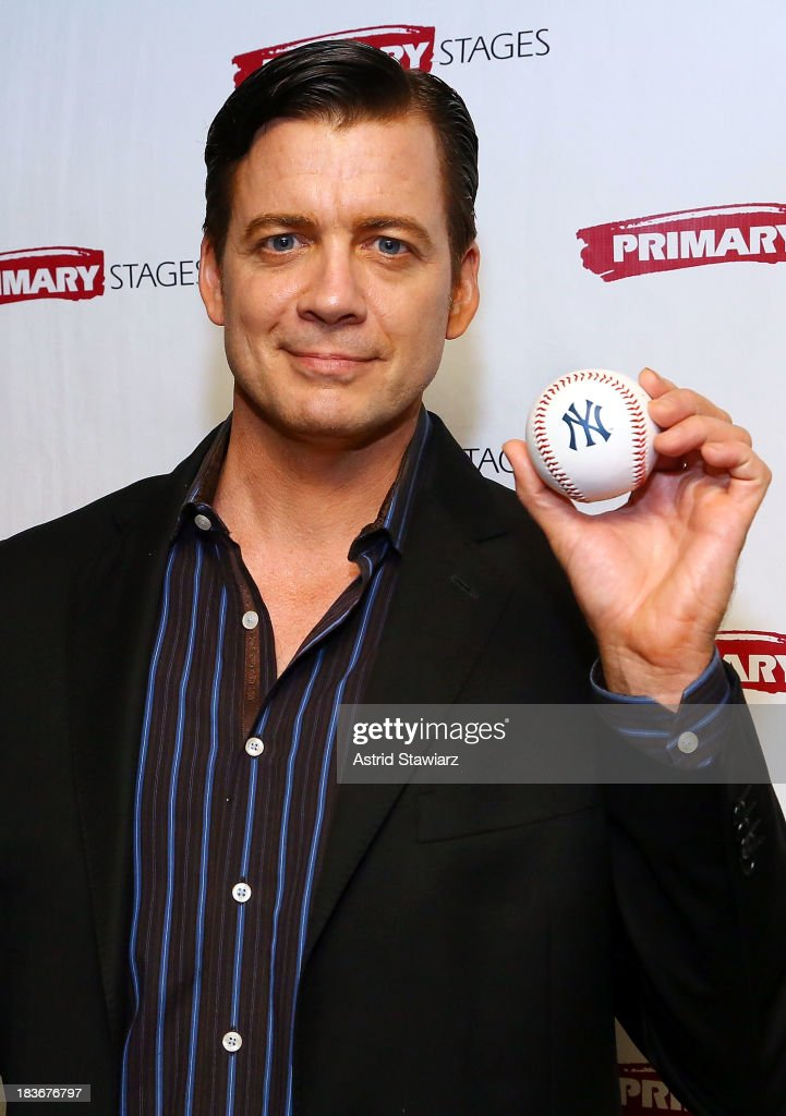 Actor Chris Henry Coffey attends the 'Bronx Bombers' opening night after Party at West Bank Cafe on October 8, 2013 in New York City.