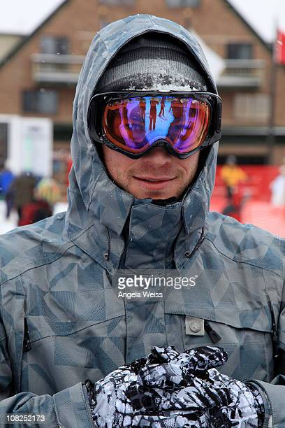Actor Chris Hensworth attends the Oakley Learn to Ride Fueled by Muscle Milk and Lounge on January 22 2011 in Park City Utah