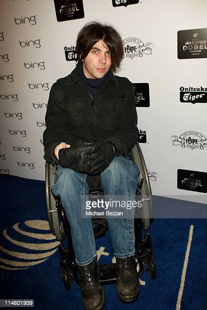 Actor Chris Horton attends Onitsuka Tiger and Maestro Dobel Tequila Presents Sympathy For Delicious Cast Dinner At House Of Hype on January 24 2010...