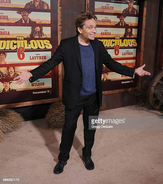 Actor Chris Kattan arrives at the premiere of Netflix's 'The Ridiculous 6' at AMC Universal City Walk on November 30 2015 in Universal City California
