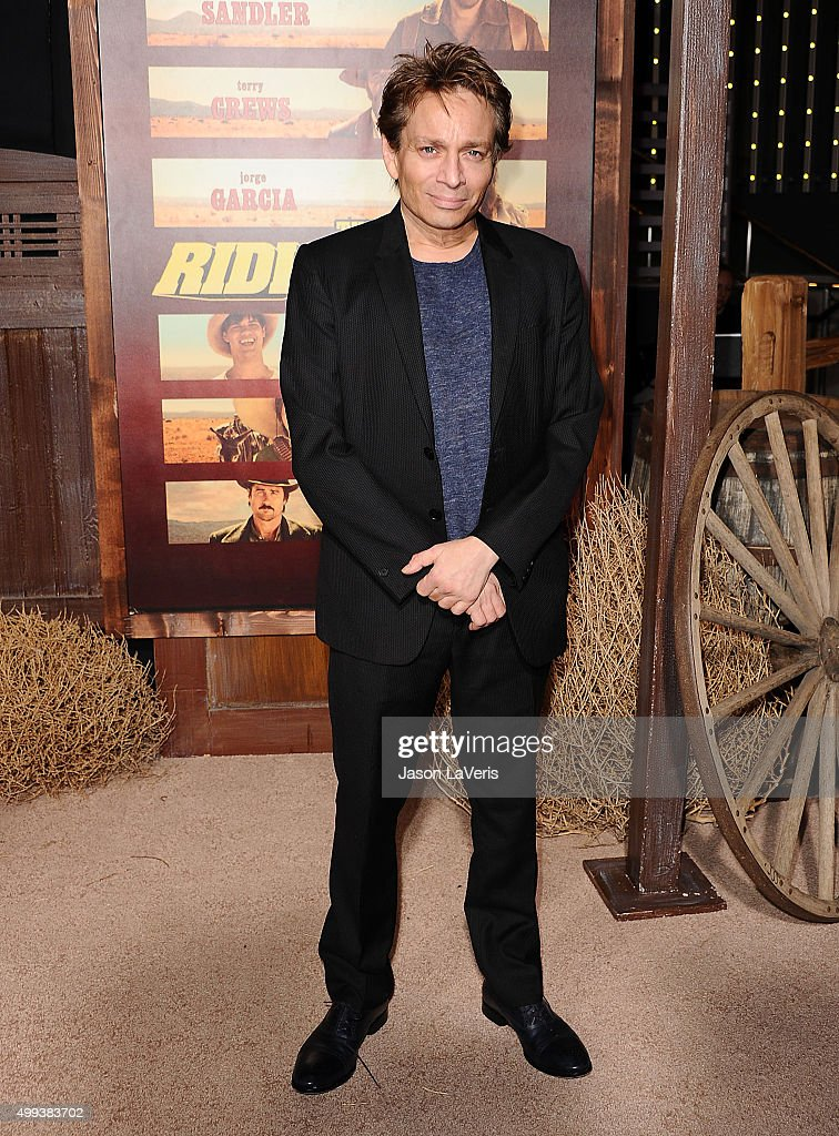 Actor Chris Kattan attends the premiere of 'The Ridiculous 6' at AMC Universal City Walk on November 30, 2015 in Universal City, California.