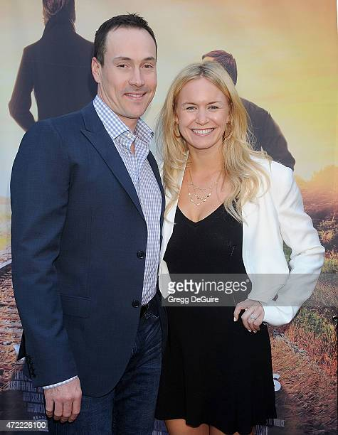 Actor Chris Klein and Laina Rose Thyfault arrive at the Los Angeles premiere of Where Hope Grows at ArcLight Cinemas on May 4 2015 in Hollywood...