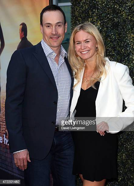 Actor Chris Klein and Laina Rose Thyfault attend the premiere of Roadside Attractions' Godspeed Pictures' Where Hope Grows at ArcLight Cinemas on May...